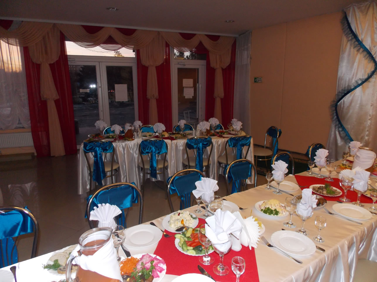 Banquet hall for 60 persons