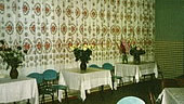 The dining room with 150 seats